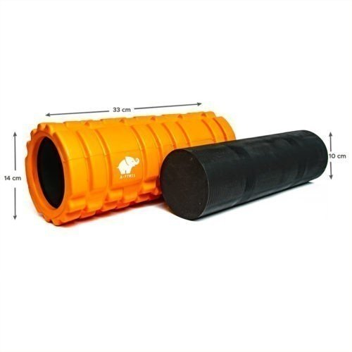 A-FTNSS Foam Roller Oragne Dimensions