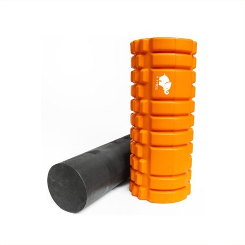 A-FTNSS Foam Roller Orange Standing