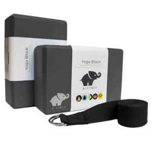 A-FTNSS yoga block set black
