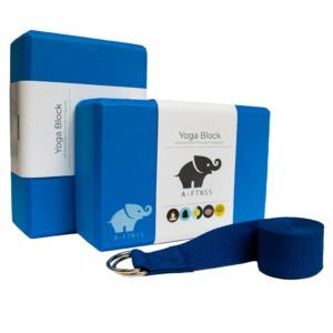 A-FTNSS yoga block set blue