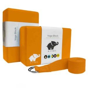 A-FTNSS yoga block set orange