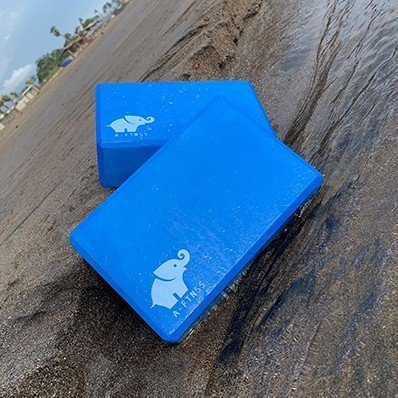 Yoga Blocks Blue in Water