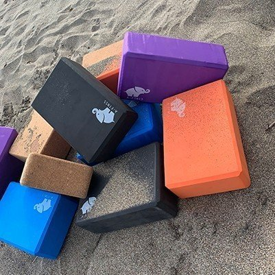 Yoga Blocks in Multiple Colors