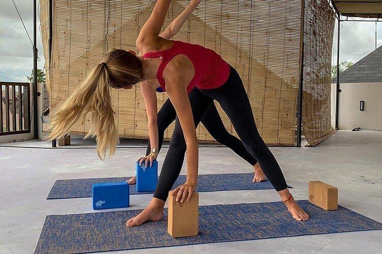 EVA Foam and Cork Yoga Blocks