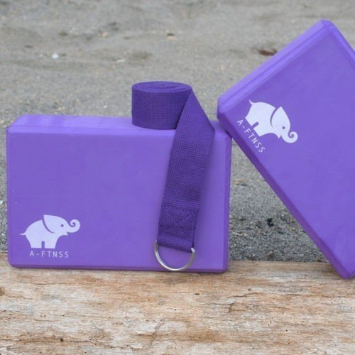 Yoga Blocks Purple