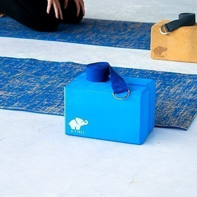 Yoga Block Blue