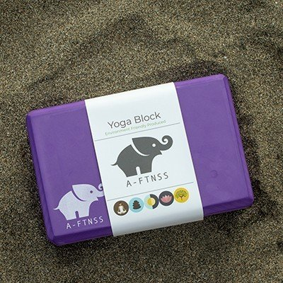 Yoga Block Purple