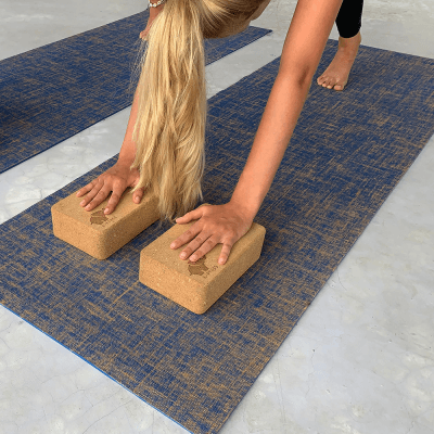 Cork Yoga Blocks Set