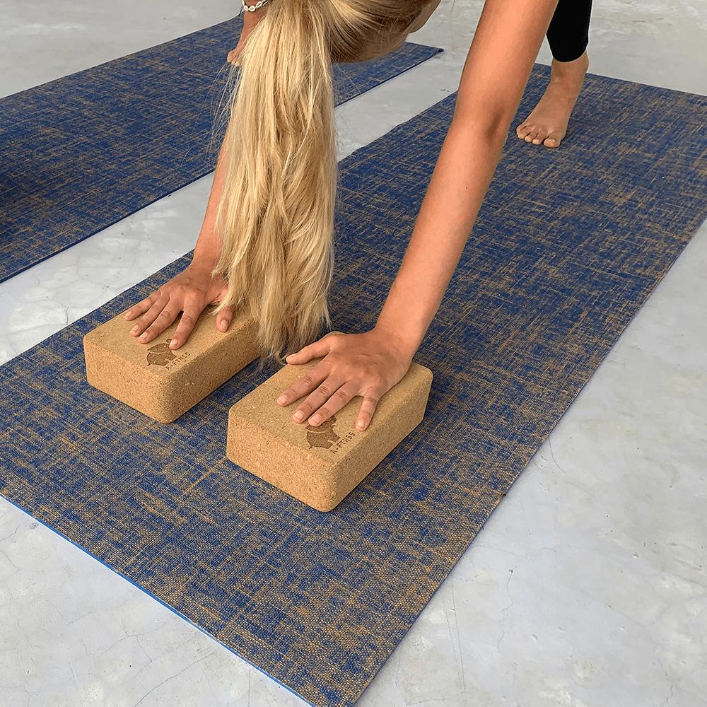 Yoga blokken Kurk