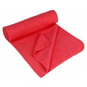 Avento Yoga Towel Antiskid Pink