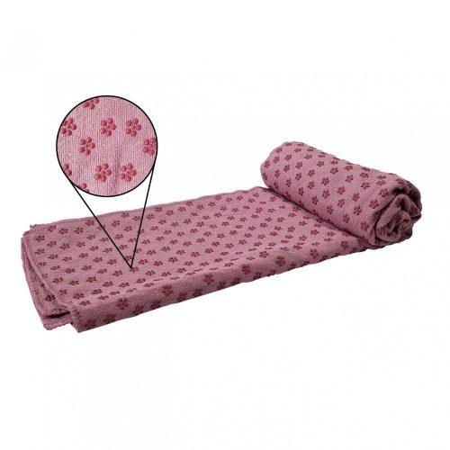 Tunturi Non-Slip Towel pink silicone