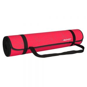 Avento Fitness Mat with print red