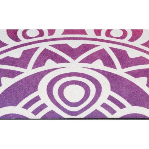 Avento Suede Yoga Mat With Print Pink/Orange ci
