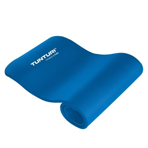 Tunturi Fitness Mat With Carrying Bag Blue