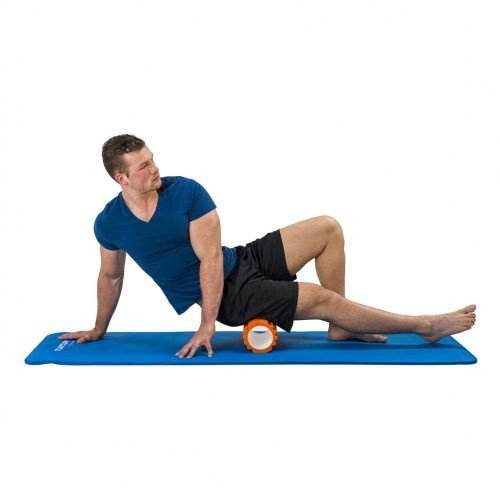 Tunturi Fitness Mat With Carrying Bag Blue foam roller