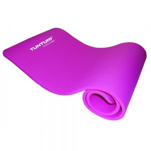 Tunturi Fitness Mat With Carrying Bag Pink