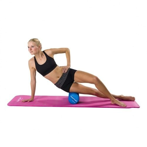 Tunturi Fitness Mat With Carrying Bag Pink foam roller