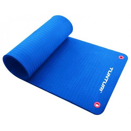 Tunturi Fitness Mat Pro Anti-Slip 180 cm Blue