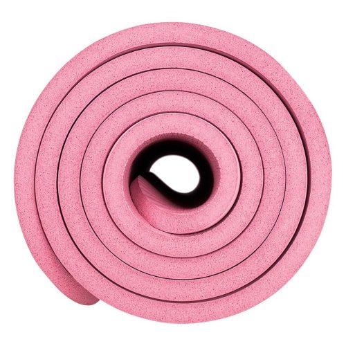 Avento Fitness Mat 183 x 61 cm 12 mm Foam Pink side