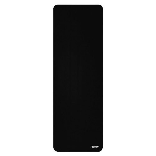 Avento fitness mat 183 x 61 cm foam 12 mm black
