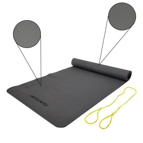 Tunturi Fitness Mat TPE Grey Specs