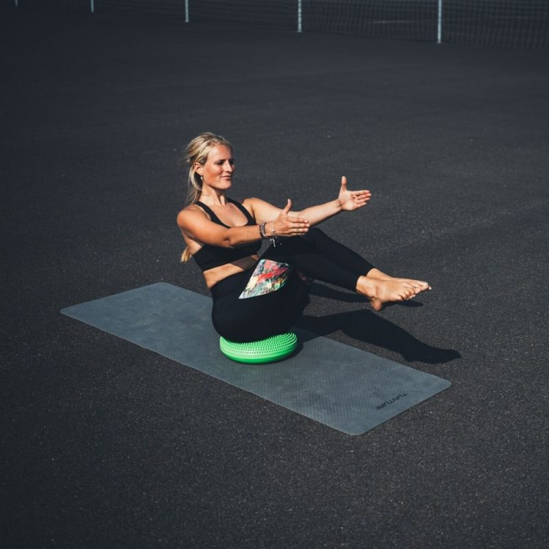 Tunturi Fitness Mat TPE Grey ab training
