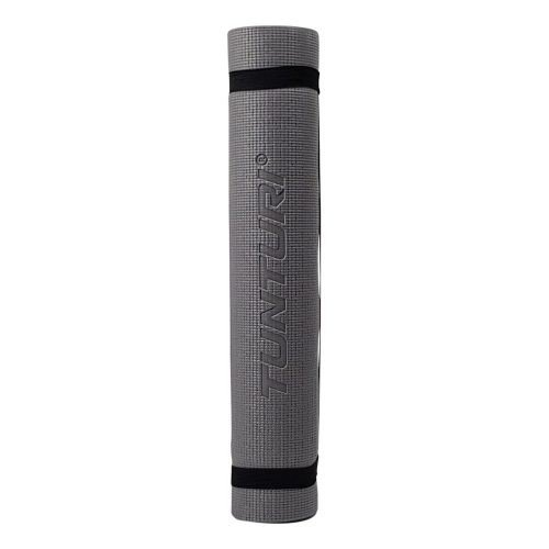 Tunturi Fitness Mat PVC 4 mm Yellow/Gray Print roll