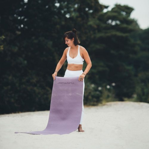 Tunturi Fitness Mat PVC 4 mm Purple women