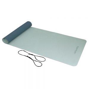 Tunturi Fitness Mat TPE 4 mm Blue/Gray