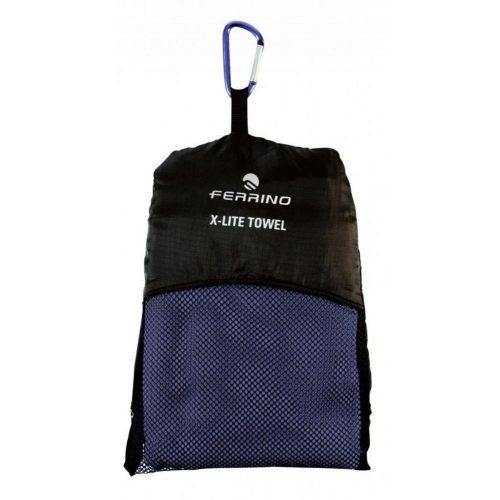Ferrino Sports Towel Dark Blue Package