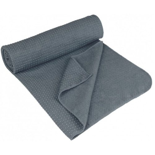 Avento Yoga Towel Antiskid Gray