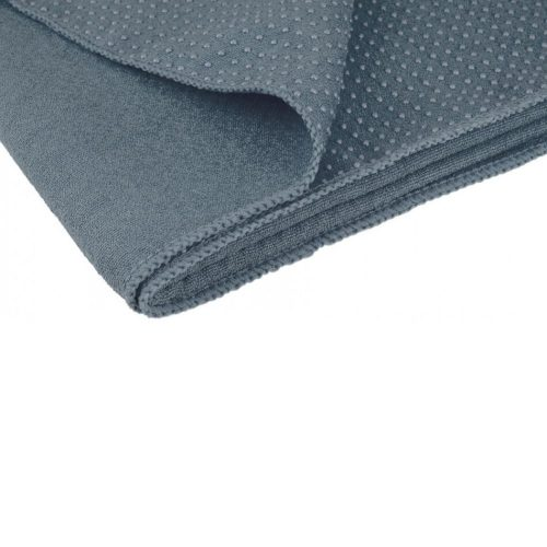 Avento Yoga Towel Antiskid Gray folden