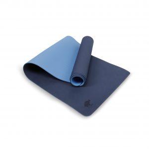 Yoga mat blue
